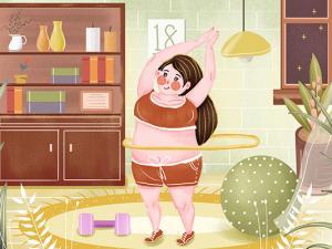呼啦圈可以瘦肚子上的肉吗