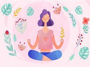 美容瑜伽让你轻松瘦脸