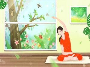 5式瘦腰减肥瑜伽助你轻松速瘦